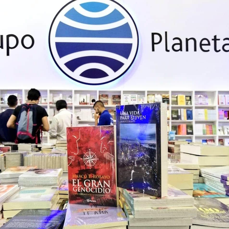 Marco Robayo presente en la Feria del Libro de Bogotá