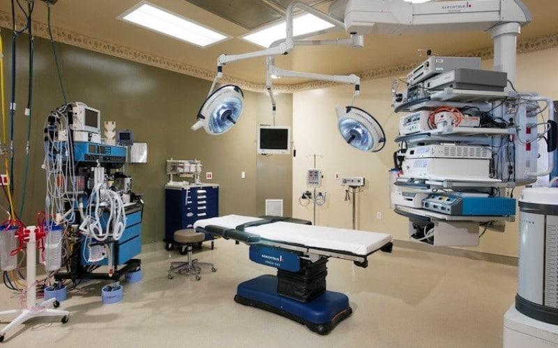 La cirugía