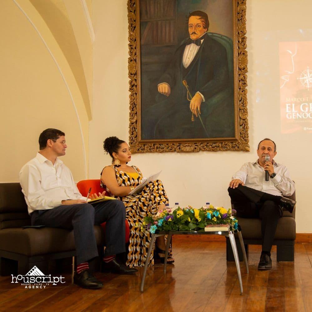 Conversatorio Universidad de Cartagena, Colombia sobre 'El Gran Genocidio'