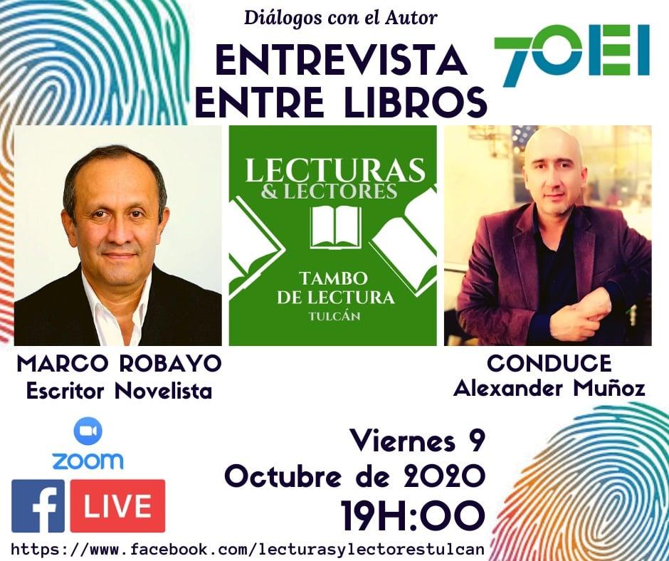 Entrevista – Entre libros con 'Lecturas & Lectores Tulcán'