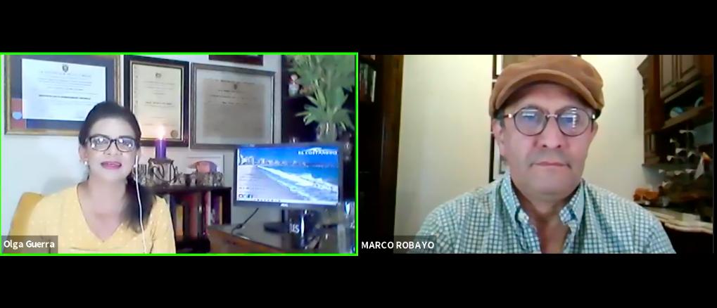 Conversaciones frente al mar, con Marco Robayo